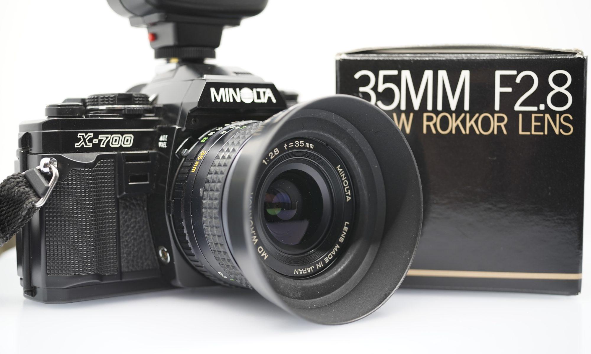 Minolta Rokkor 35 mm 2.8