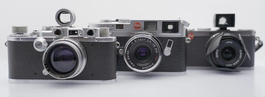 Leica M6, Leica Barnack, Leica X1