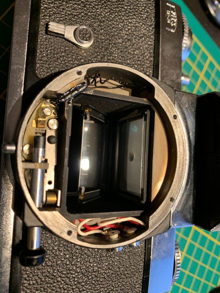 Zeiss Ikon Icarex 35CS light metering problems