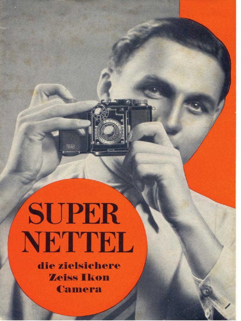 Zeiss Ikon Super Nettel brochure